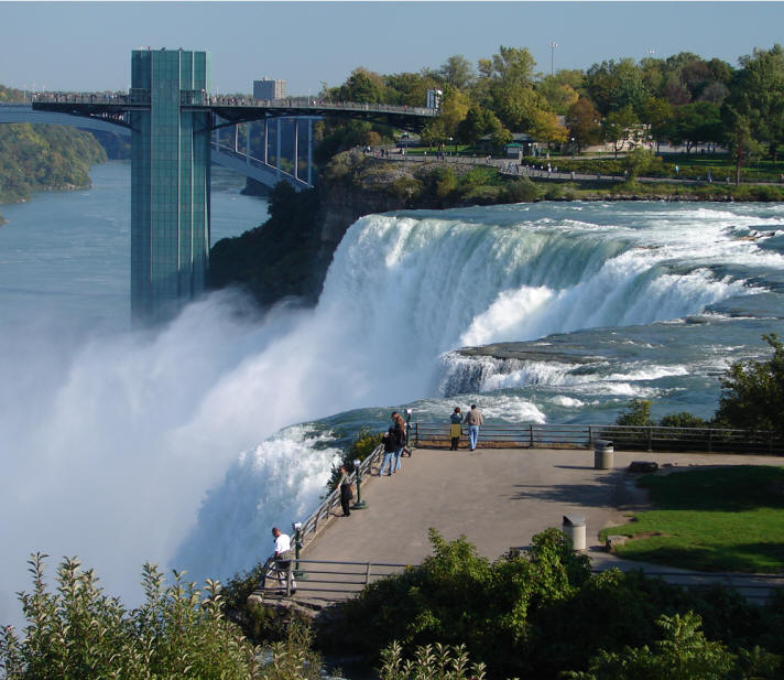 Places To Visit In The Fall In Usa: Goat Island In Niagara Falls New York