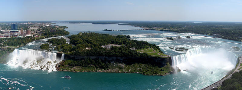 Map Of Goat Island Niagara Falls