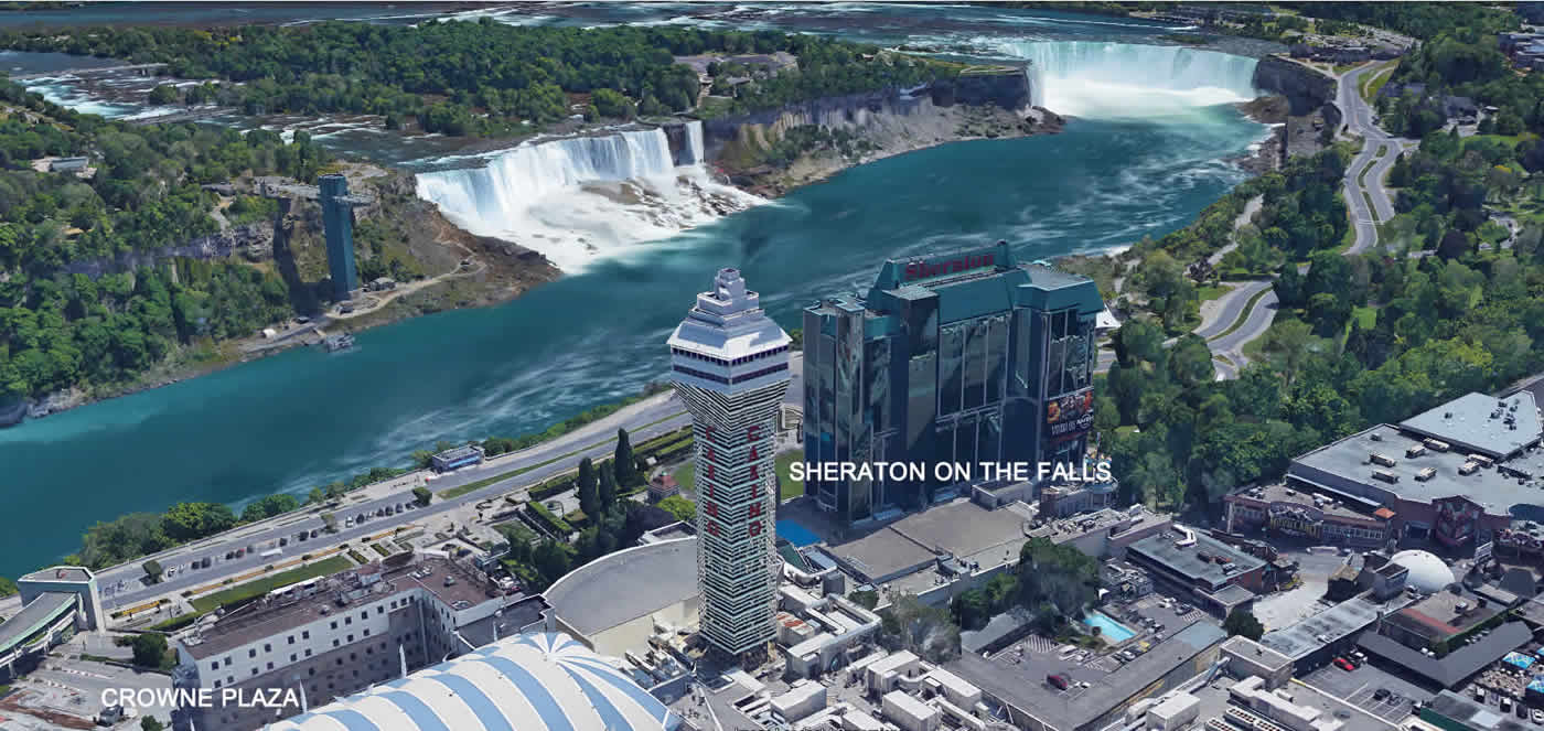 best view of american falls niagara hotel