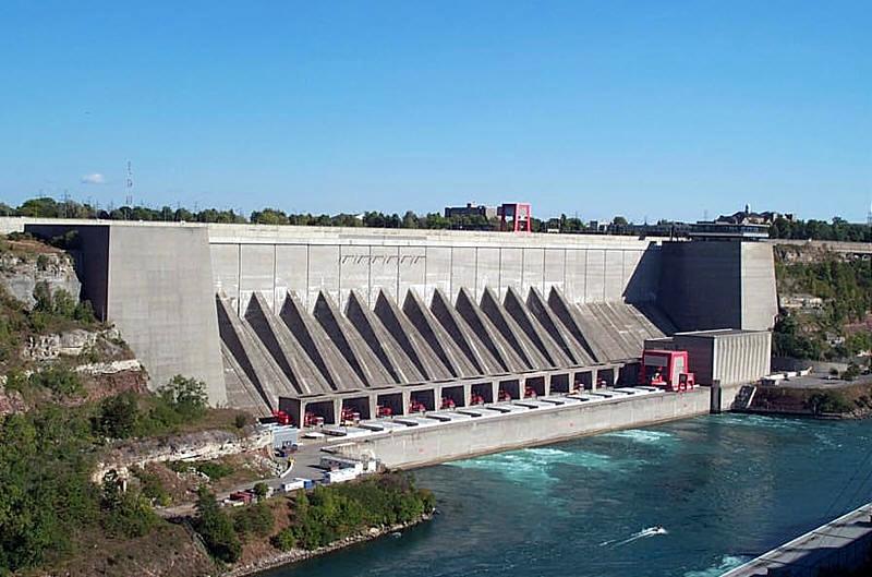 New York State Power Authority In Niagara Falls New York