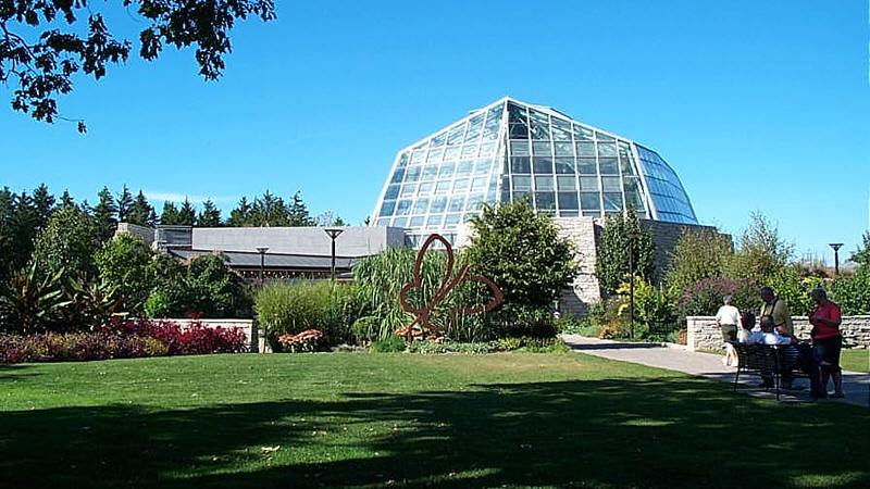 niagara butterfly conservatory exterior