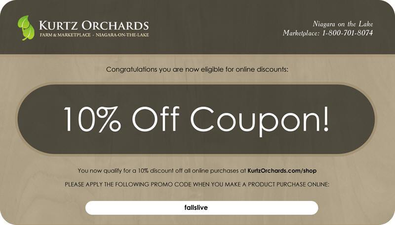 kurtz orchards coupon