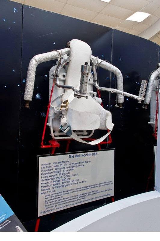 niagara aerospace museum jetpack