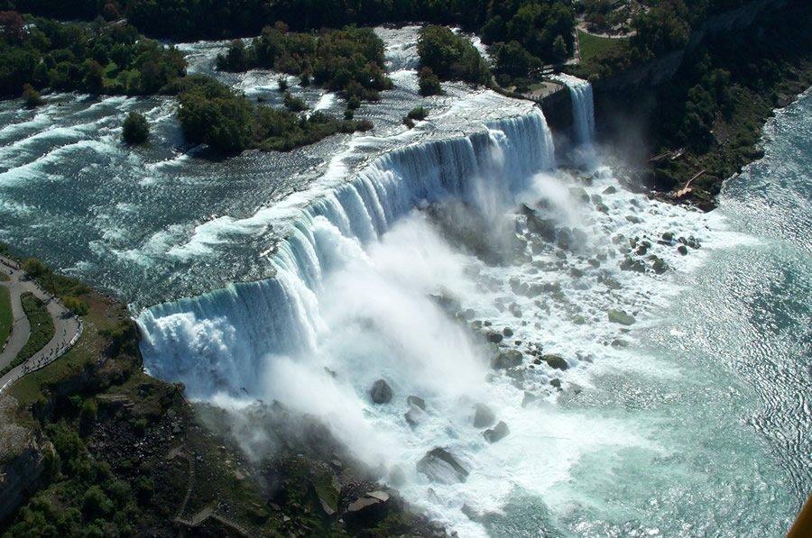 Niagara Falls Hotels >> Rainbow Air Tours over Niagara Falls