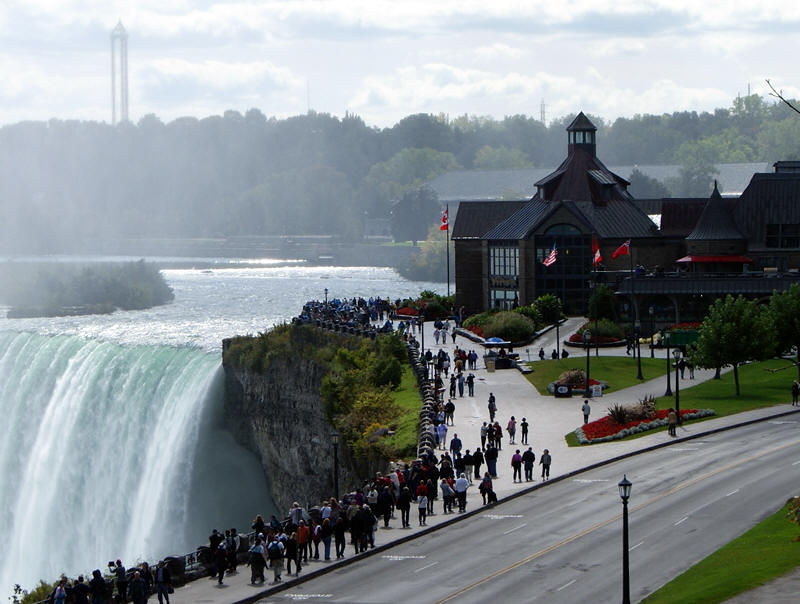 Journey Behind The Falls In Niagara Falls Canada