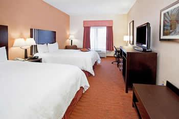 hampton inn niagara falls double beds