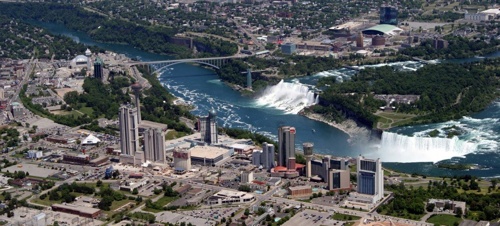 Map Of Niagara Falls Canada Hotels Niagara Falls Interactive Map