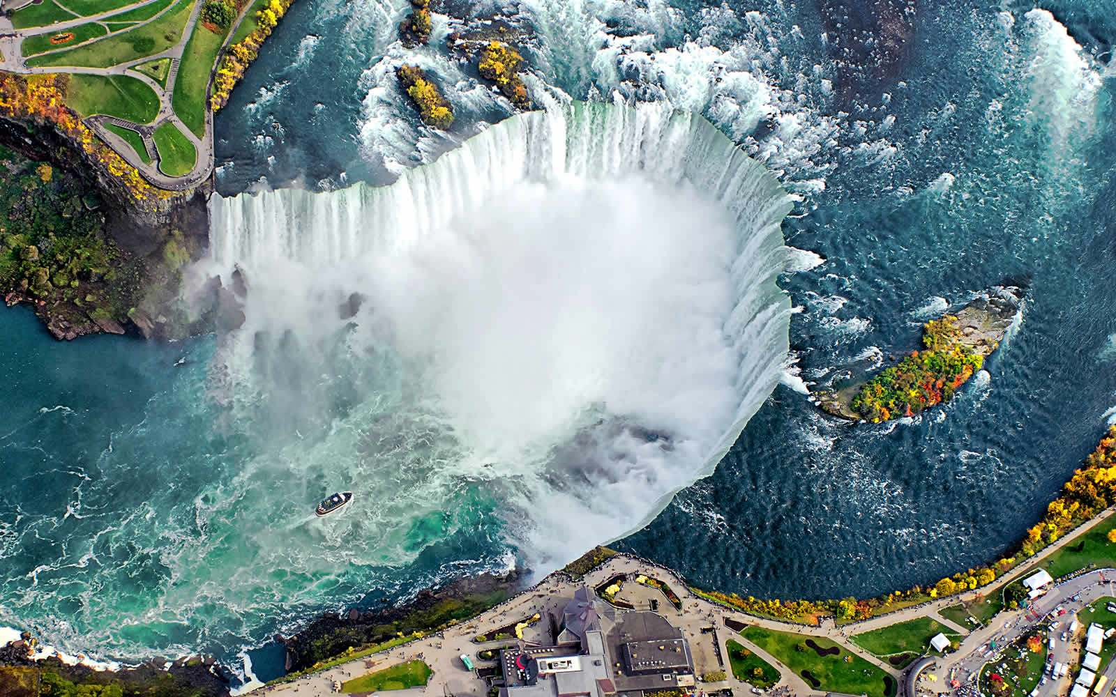 Niagara Falls Hotel Map – Niagara Falls Tourist Attractions Map