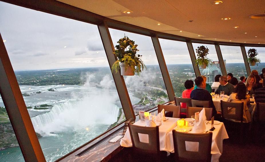 revolving dining room niagara falls ~ juliettetemple
