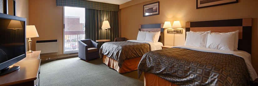 best western fallsview double beds