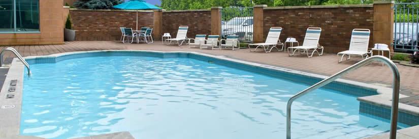 marriott courtyard niagara falls hotel pool