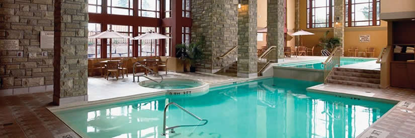 double tree fallsview hotel niagara falls pool