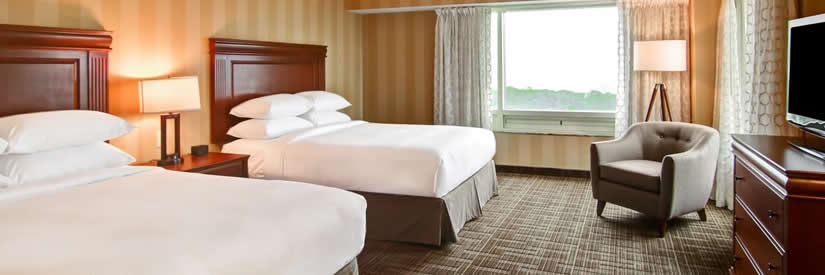 Double Tree Fallsview Hotel Niagara Falls Suite