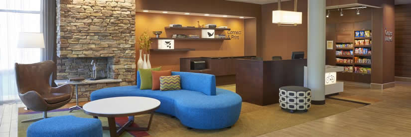 fairfield inn and suites niagara falls lobby