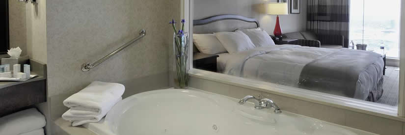 niagara falls hilton whirlpool suite
