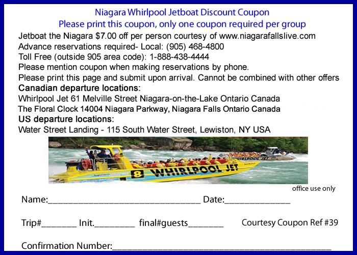 Brasa niagara falls discount coupons